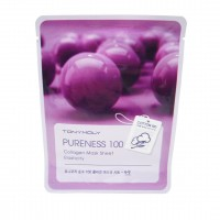 Тканевая маска для лица с коллагеном TONY MOLY Pureness 100 Collagen Mask Sheet Elasticity 21ml