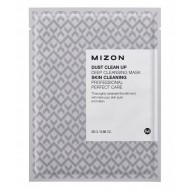 Маска тканевая очищающая Mizon Dust Clean Up Deep Cleansing Mask 25g