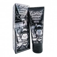 Маска пленка с алмазной пудрой Elizavecca Hell Pore Longolongo Gronique Diamond Mask Pack 100ml
