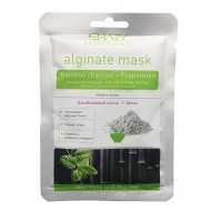 SHARY Alginate Mask Bamboo Charcoal + Peppermint Альгинатная маска с бамбуковым уголем и мятой
