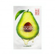 Маска тканевая с экстрактом авокадо The Saem Natural Avocado Mask Sheet