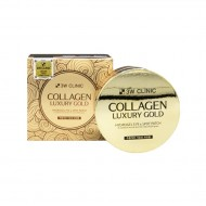 <b>3W Clinic Collagen Luxury Gold Hydrogel Eye & Spot Patch 60 pieces</b><br>Гидрогелевые патчи с коллагеном