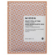Маска для подтяжки овала лица Mizon Enjoy Vital-Up Time Line Fit Mask 25ml
