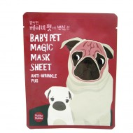 Тканевая маска против морщин Holika Holika Baby Pet Magic Mask Sheet Anti Wrinkl Pug 22ml