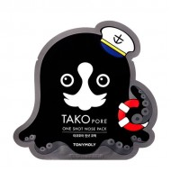 Патч от чёрных точек TONY MOLY Tako Tako Pore One Shot Nose Pack 1,5g