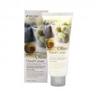 Увлажняющий крем для рук с экстрактом оливы 3W Clinic Moisturizing Olive Hand Cream 100ml