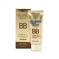 Крем с коллагеном 3W Clinic Collagen & Luxury Gold BB Cream Whitening SPF50+/PA 50ml
