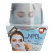 Альгинатная маска с алмазной пудрой (пудра+активатор) Lindsay Diamond Rubber Mask (65g+6,5g)*2