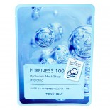 TONY MOLY Pureness 100 Hyaluronic Acid Mask Sheet Hydrating Маска с гиалуроновой кислотой
