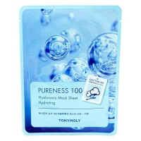Маска с гиалуроновой кислотой TONY MOLY Pureness 100 Hyaluronic Acid Mask Sheet Hydrating