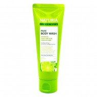 Гель для душа с мятой и лаймом Evas Naturia Pure Body Wash Wild Mint & Lime, 100ml
