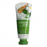 <b>WELCOS Cleansing Story Foam Cleansing (Aloe) 120g</b><br>Пенка для лица