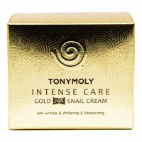 TONY MOLY Intense Care Gold 24K Snail Cream Крем для лица 45мл
