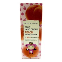 Крем для рук Персик Milatte Fashiony Fruit Hand Cream Peach, 60g