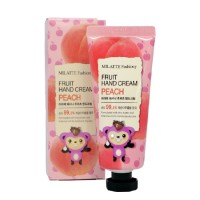 Крем для рук Персик Milatte Fashiony Fruit Hand Cream Peach 60g