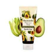 Очищающая пенка с экстрактом авокадо FarmStay Avocado Premium Pore Deep Cleansing Foam 180ml