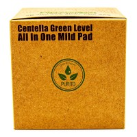 Пилинг-диски с центеллой Purito Centella Green Level All In One Mild Pad 70 pieces