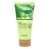 THE SAEM Jeju Fresh Aloe Cleansing Foam Пенка для умывания, 150гр