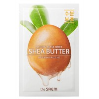 the SAEM Natural Shea Butter Mask Sheet Маска тканевая  с экстрактом масла