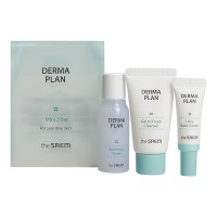 THE SAEM DERMA PLAN Mini 3 Set Набор для лица восстанавливающий