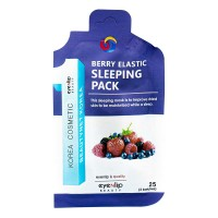 EYENLIP POCKET Маска для лица ночная BERRY ELASTIC SLEEPING PACK 25гр
