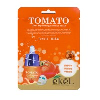 Тканевая маска для лица с экстрактом томата EKEL Tomato Ultra Hydrating Essence Mask 25ml