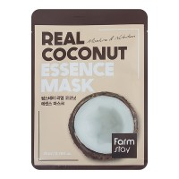 Тканевая маска для лица с экстрактом кокоса FarmStay Real Coconut Essence Mask 23ml