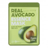 Тканевая маска для лица с экстрактом авокадо FarmStay Real Avocado Essence Mask  23ml