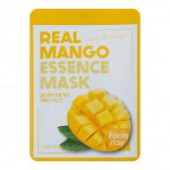 Тканевая маска для лица с экстрактом манго FarmStay Real Mango Essence Mask 23ml