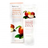 Гель с экстрактом яблока FarmStay All In One Whitening Peeling Gel Apple