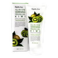 Гель с экстрактом киви FarmStay All In One Whitening Peeling Gel Kiwi
