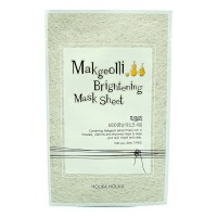 Тканевая маска для лица Holika Holika Makgeolli Brightening Mask Sheet 20ml