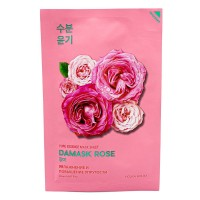 Увлажняющая тканевая маска Holika Holika Pure Essence Mask Sheet Damask Rose, 20ml