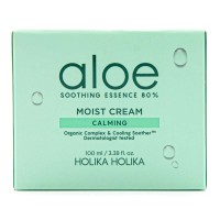 Увлажняющий крем для лица Holika Holika Aloe Soothing Essence 80% Moist Cream Calming, 100ml