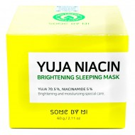 SOME BY MI Yuja Niacin 30 Days Miracle Brightening Sleeping Mask Ночная маска для сияния кожи 60г