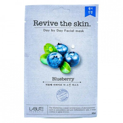 Тканевая маска Labute Revive the skin Blueberry Mask 23ml
