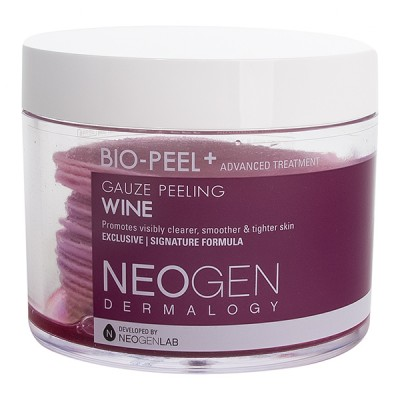 Пэды укрепляющие с вином Neogen Dermalogy Bio-Peel Gauze Peeling Wine 200ml/30 pieces