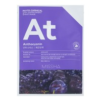 Маска для лица Missha Phytochemical Skin Supplement Sheet Mask (Anthocyanin/Lifting) 25ml