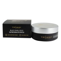Патчи с муцином улитки TRIMAY Black Snail Gold Nutrition Eye Patch 90 pieces