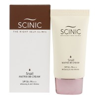 BB с муцином улитки Scinic Snail Matrix BB Cream SPF50 40ml