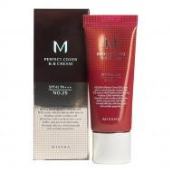 Тональный крем Missha M Perfect Cover BB Cream SPF42/PA+++ (No.25/Warm Beige) 20ml