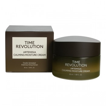 MISSHA Time Revolution Artemisia Calming Moisture Cream Успокаивающий крем для лица 50ml
