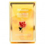 JMSolution Glow Lumin Flower Firming Powder Cleanser Rose Энзимная пудра с розой (0,35 гр*30 шт)