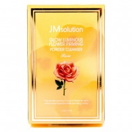 Энзимная пудра с розой JMsolution Glow Lumin Flower Firming Powder Cleanser Rose 0,35g*30 pieces
