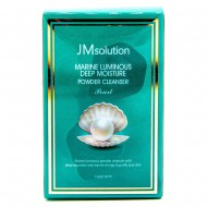 <b>JMsolution Marine Lumin Pearl Deep Moisture Powder Cleanser Pearl 0,35g*30 pieces</b><br>Энзимная пудра с жемчугом