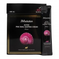 Ночной крем с улиткой JMsolution Active Pink Snail Sleeping Cream 4ml*30 pieces