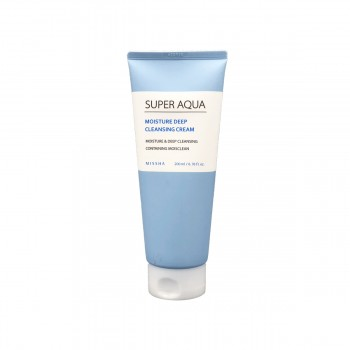 MISSHA Super Aqua Moisture Deep Cleansing Cream Очищающий крем для лица