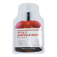 Ампульная маска, выравнивающая тон кожи с витамином С Proud Mary Vita C Ampoule Mask Pack 25g