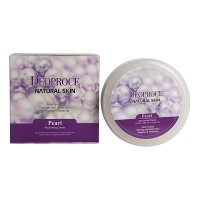 Крем для лица и тела с экстрактом жемчуга Deoproce Natural Skin Pearl Nourishing, 100ml