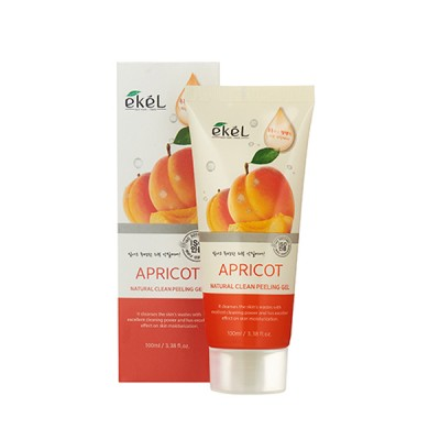 Пилинг-скатка с экстрактом абрикоса EKEL Natural Clean Peeling Gel Apricot 100 ml